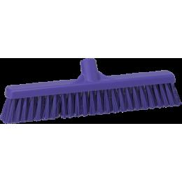 Щетка для подметания пола мягкая, 410 мм, Мягкий ворс, фиолетовый цвет