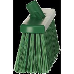 Щетка для подметания сверхпрочная, 330 мм, Очень жесткий, зеленый цвет
