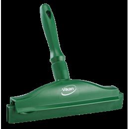 Гигиеничный ручной сгон со сменной кассетой, 250 мм, зеленый цвет