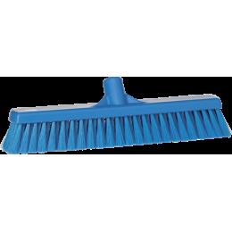 Щетка для подметания пола мягкая, 410 мм, Мягкий ворс, синий цвет