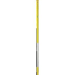 Ручка из нержавеющей стали, Ø31 мм, 1510 мм, желтый цвет