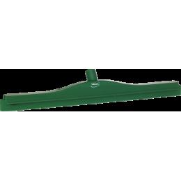 Гигиеничный сгон с подвижным креплением и сменной кассетой, 700 мм, зеленый цвет